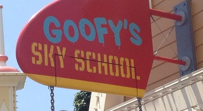 Photo of Theme Park Ride / Attraction Goofy's Sky School at 1313 S Disneyland Dr, Anaheim, CA 92802, United States