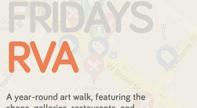 Photo of Art Gallery First Fridays Art Walk at Downtown Rva Broad St, Richmond, VA 23220, United States