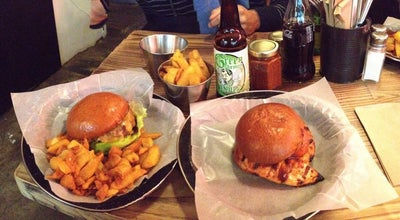 Photo of Burger Joint Bukowski at Brixton SW9 8JX, United Kingdom
