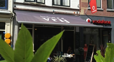 Photo of Cafe Lunchcafé Vrij at Brabantse Turfmarkt 61, Delft 2611 CM, Netherlands