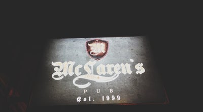 Photo of Bar McLaren's Pub at 2/f 220 Wilson St., San Juan, Philippines