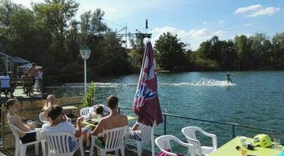 Photo of Lake Wasserskilift Mannheim-Rheinau at Mannheim, Germany