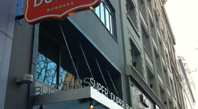 Photo of Burger Joint Super Duper Burger at 721 Market St, San Francisco, CA 94103, United States