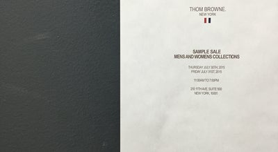 Photo of Office Thom Browne Corporate at 210 11th Ave, New York, NY 10001, United States