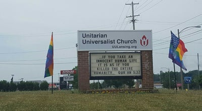 Photo of Church Unitarian Universalist Church of Greater Lansing at 855 Grove St, Lansing, MI 48823, United States