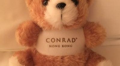 Photo of Hotel Bar Executive Lounge at Conrad Hong Kong, 88 Queensway, Central, Hong Kong