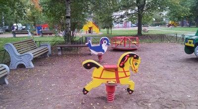 Photo of Playground Детская площадка на Вавиловых-Науки at Ул.вавиловых, Пр. Науки, санкт-петербург, Russia