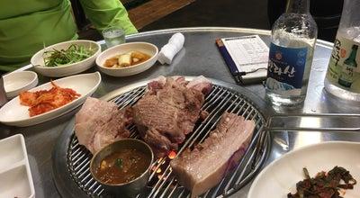 Photo of BBQ Joint 돈사돈 at 천제연로 264-1, 서귀포시, South Korea