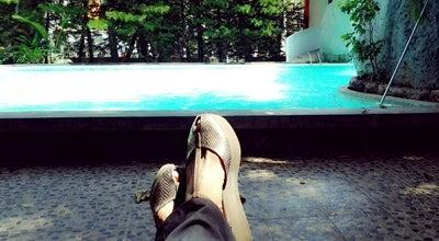 Photo of Pool Swiming Pool Hotel Apita at Jl. Tuparev 323 Cirebon, Cirebon, Indonesia