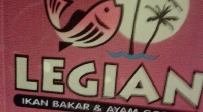 Photo of Seafood Restaurant Legian Ikan Bakar & Ayam Goreng at Jl. Gajah Mada No. 234, Jember, Indonesia