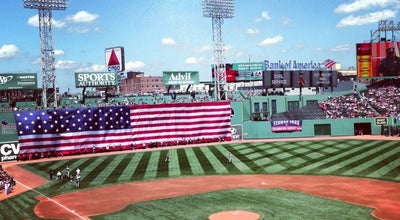 Photo of Baseball Stadium Fenway Park at 4 Yawkey Way, Boston, MA 02215, United States