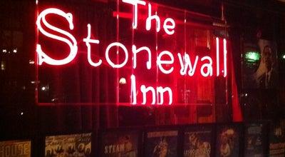 Photo of Gay Bar The Stonewall Inn at 53 Christopher St, New York, NY 10014, United States