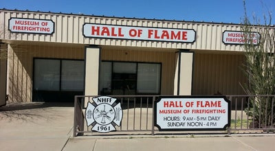 Photo of Museum Hall of Flame Fire Museum and the National Firefighting Hall of Heroes at 6101 E Van Buren St, Phoenix, AZ 85008, United States