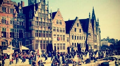 Photo of Plaza Graslei at Graslei, Gent 9000, Belgium