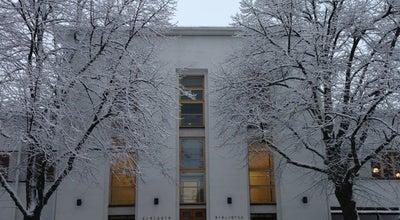 Photo of Library Vaasan Kaupunginkirjasto - Maakuntakirjasto at Kirjastonkatu 13, Vaasa 65100, Finland