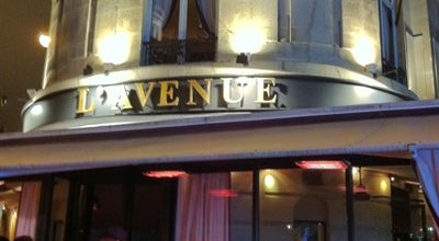 Photo of French Restaurant L'Avenue at 41 Avenue Montaigne, Paris 75008, France
