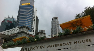 Photo of Monument / Landmark The Fullerton Waterboat House at 3 Fullerton Rd #03-01, Singapore 049215, Singapore