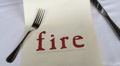 Photo of American Restaurant Fire Food & Drink at 13220 Shaker Square, Cleveland, OH 44120, United States