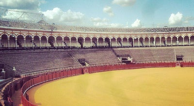Photo of Historic Site Plaza de Toros de la Maestranza at P. De Cristóbal Colón, Sevilla 41001, Spain