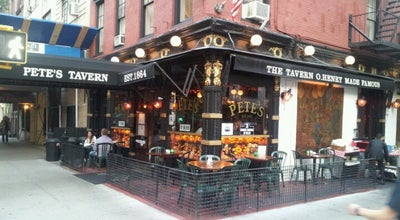 Photo of American Restaurant Pete's Tavern at 129 E 18th St, New York, NY 10003, United States