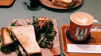 Photo of Cafe THE COFFEE BAR リッチシティー店 at 北区駅元町15-1, Okayama 700-0024, Japan