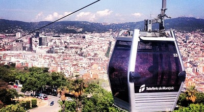 Photo of Cable Car Telefèric de Montjuïc at Av. Miramar, Barcelona 08038, Spain
