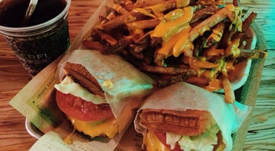 Photo of American Restaurant BurgerFi at 1242 Washington Ave, Miami Beach, FL 33139, United States