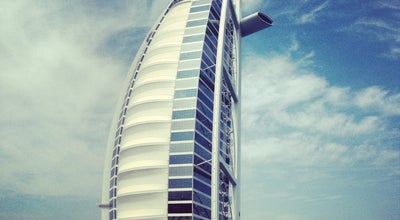 Photo of Beach Jumeirah Beach at Near Jumeirah Beach Hotel & Burj Al Arab, Dubai, United Arab Emirates