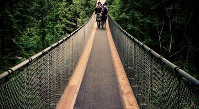 Photo of Bridge Capilano Suspension Bridge at 3735 Capilano Road, Vancouver, BC V7R 4J1, Canada