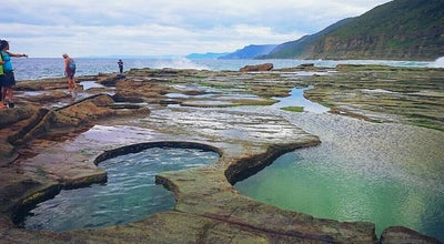 Photo of Scenic Lookout Figure of Eight Pools at ROYAL NATIONAL PARK, NS, Australia