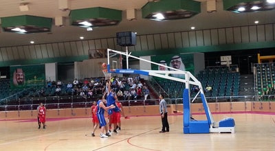 Photo of Basketball Court Green Hall Sports City - Rakkah at Saudi Arabia