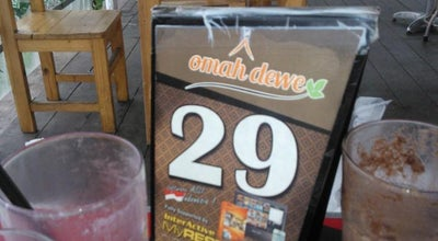 Photo of Cafe Omah Dewe Cafe & Resto at Sidoarjo, Indonesia