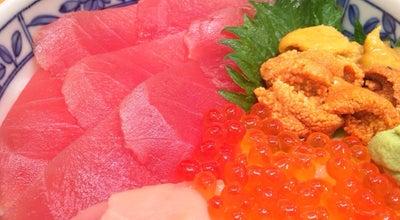 Photo of Sushi Restaurant 焼津まぐろ 山水 at 八楠4-13-7, Japan