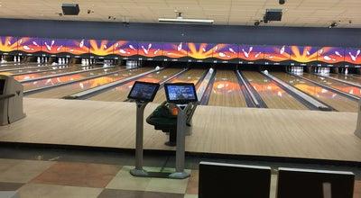 Photo of Bowling Alley Bowlmor AMF Boulevard Lanes at 3501 S Boulevard, Edmond, OK 73013, United States