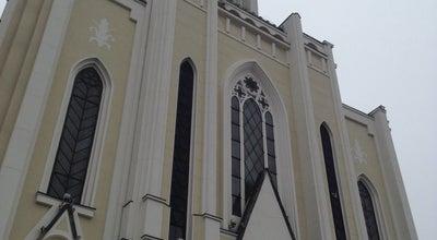 Photo of Church Parafia Najczystszego Serca Maryi w Warszawie (kościół na pl. Szembeka) at Chłopickiego 2, Warsaw 04-314, Poland