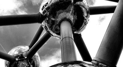 Photo of Monument / Landmark Atomium at Square De L'atomiumsquare, Laken 1020, Belgium