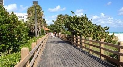 Photo of Trail Miami Beach Boardwalk at 35th St, Miami Beach, FL 33140, United States