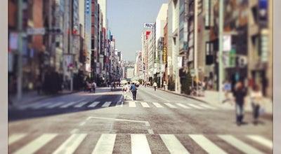 Photo of Neighborhood 銀座 (Ginza) at 銀座, 中央区, Japan