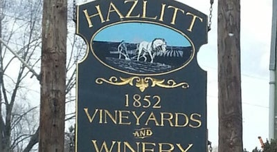 Photo of Winery Hazlitt 1852 Vineyards at 5712 State Route 414, Hector, NY 14841, United States