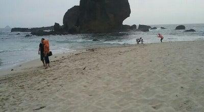 Photo of Beach Tanjung Papuma at Jl.raya Watu Ulo Desa Sabrang, Jember, Indonesia