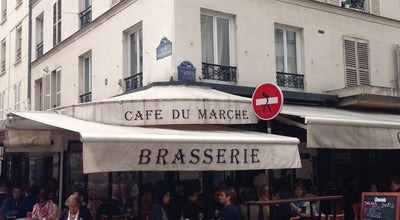 Photo of French Restaurant Café du Marché at 38 Rue Cler, Paris 75007, France