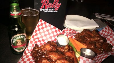 Photo of BBQ Joint Rally Sports Bar + Smokehouse at 1660 O'connor Drive, Toronto, ON M4A 2R4, Canada