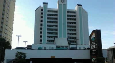 Photo of Hotel The Reef Resort at 2101 S Ocean Blvd, Myrtle Beach, SC 29577, United States