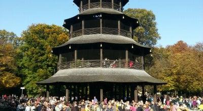 Photo of Beer Garden Biergarten am Chinesischen Turm at Englischer Garten, München 80538, Germany