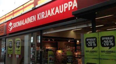 Photo of Bookstore Suomalainen Kirjakauppa at Kauppakeskus Revontuli, Koskikatu 27, Rovaniemi 96200, Finland
