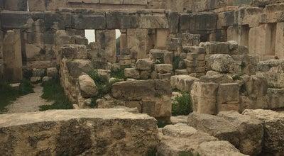 Photo of Historic Site Qasr Iraq El-Amir قصر عراق الامير at Wadi Seer, `Iraq al Amir, Jordan