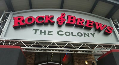 Photo of American Restaurant Rock & Brews at 5351 Nebraska Furniture Mart Dr, The Colony, TX 75056, United States