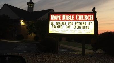 Photo of Church Hope Bible Church at 173 Pieper Rd, O Fallon, MO 63366, United States