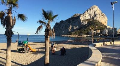 Photo of Beach Cala La Calalga at Av De La Rosa De Los Vientos, 14, Calpe 03710, Spain