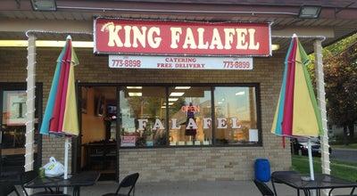 Photo of Middle Eastern Restaurant King Falafel at 71 Rt 46 West, Elmwood Park, NJ 07407, United States